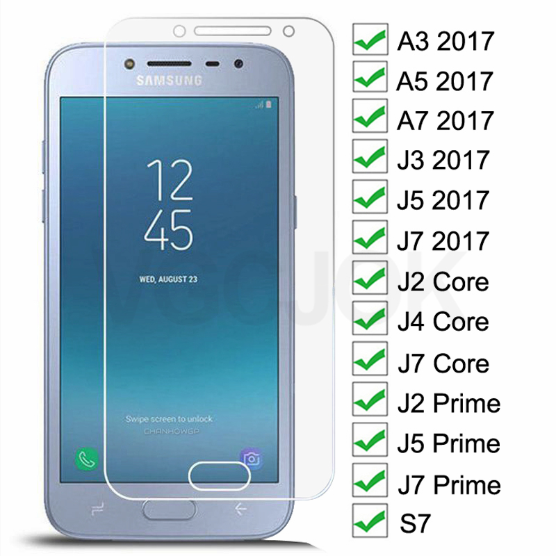 3D Tempered Glass For Samsung Galaxy J2 J4 Core J2 J5 J7 Prime Screen Protector For Samsung A3 A5 A7