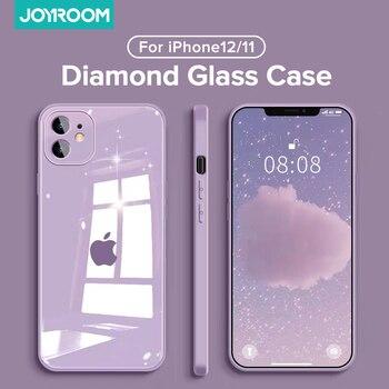Стеклянный чехол Joyroom 9H для iPhone 11, 12 Pro Max 6