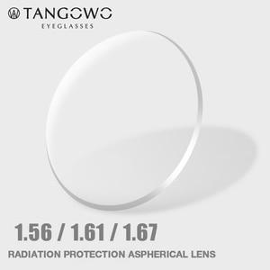 Image 2 - TANGOWO 1.56 1.61 1.67 (+ 12.00 ~ 12.00) מרשם CR 39 שרף אספריים משקפיים עדשות קוצר ראייה רוחק פרסביופיה עדשה אופטית