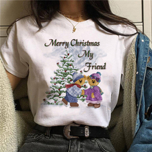 Women Fashion Christmas T-shirt