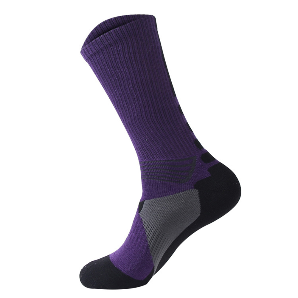 Cycling Socks Knee-High Professional Bicycle Compression Stocking Breathable Outdoor Sport Footwear Protect Running Socks BC0226 (9)