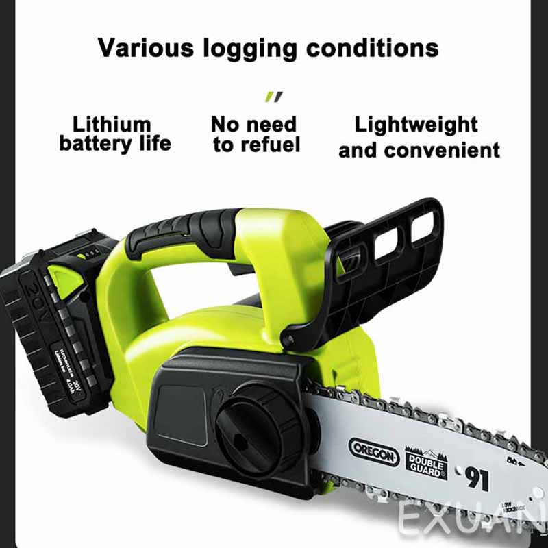 Cordless small felling mini lithium handheld tree portable logging saw chainsaw household outdoor saw battery chain electric