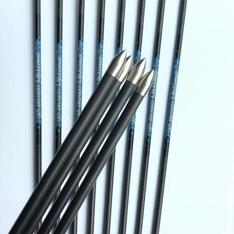 12 pcs setas de carbono sp600 1000 30