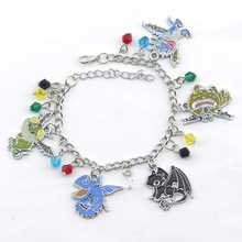 New Anime Movie How to Train Your Dragon Charm Bracelet For Women Men Gifts Manufacturer Wholesale Fashion Style Bangle for gift