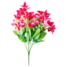 10 филиал 30 головка комнатные подарочная коробка в виде декоративного искусственного окна Свадебный орнамент растения для сада Гостиная бонсай искусственный цветок