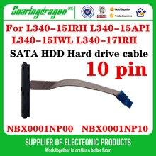 Novo cabo hdd sata para lenovo ideapad L340-15IRH L340-15API L340-15IWL L340-17IRH conector adaptador nbx0001np00 nbx0001np10