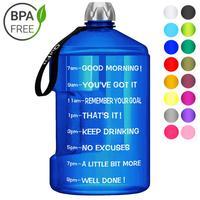 QuiFit 3.78L 2.2L 1.3L Claras Grandes Garrafas de Litro de Água Potável de Plástico Grande Capacidade Para O GINÁSIO de Fitness Turismo BPA LIVRE esportes|Garrafas de água| |  -