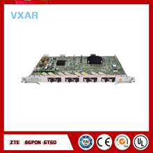 ZTE  OLT 8 ports board GTGO with 8 SFP C++ modules used on C320/C300 OLT 170adi35000 on off hybrid modules new
