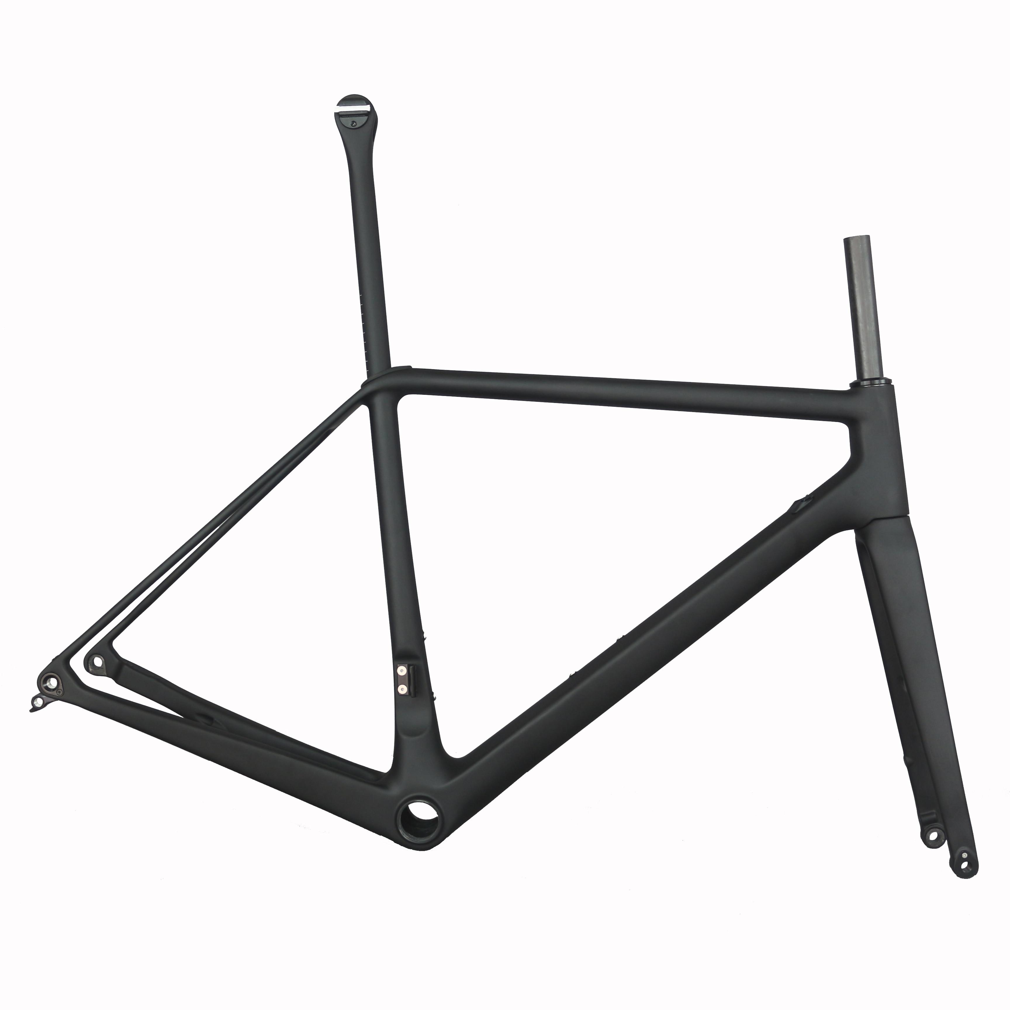 New EPS Technology Flat Mount Disc Brake BB86 Carbon Fiber T1000 Road Bike Frame FM619