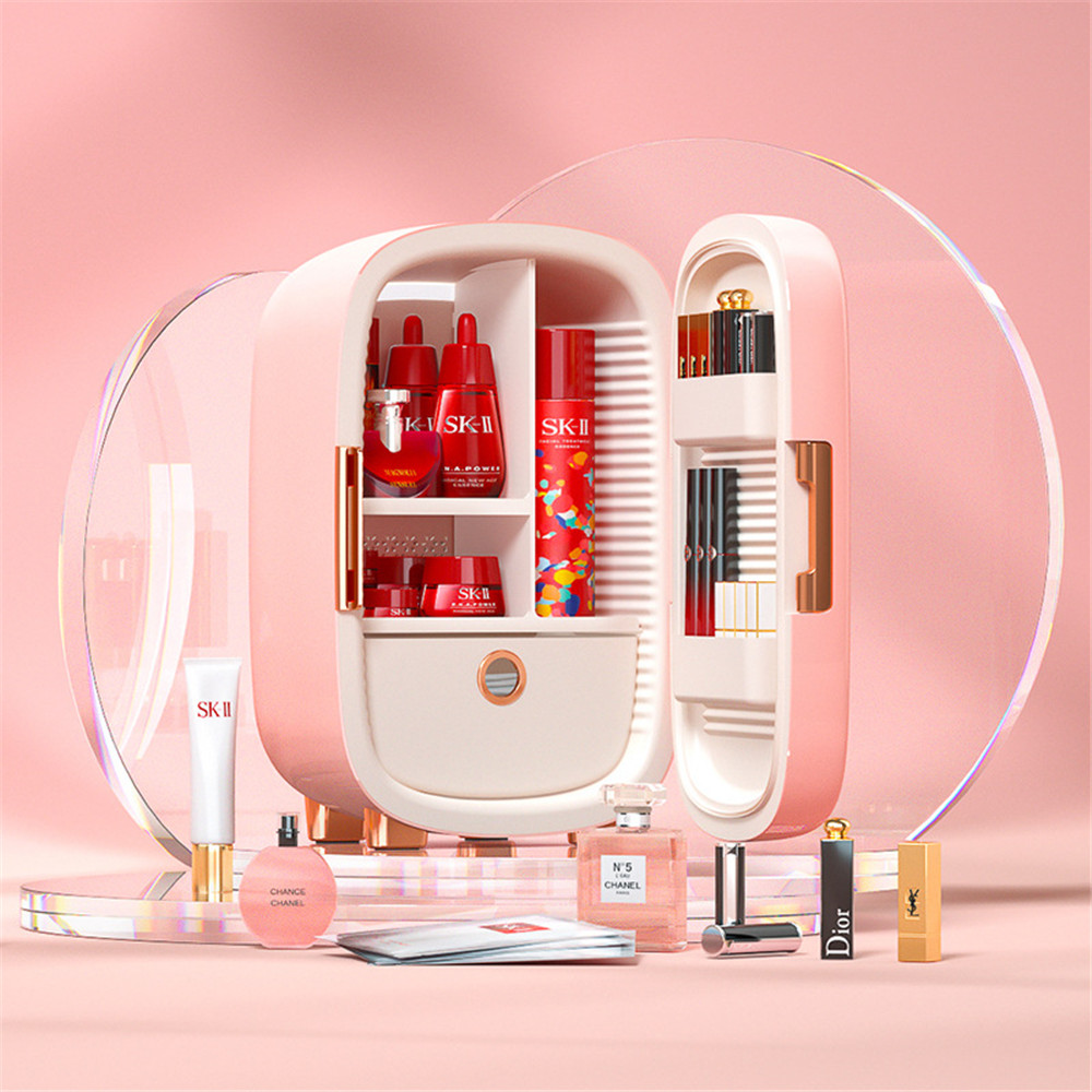 12L Mini-cooling Car Refrigerator Girl cosmetic storage Small Power Student Dormitory Refrigerator Portable Summer Household