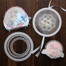 Curves Border Frames Layering New Metal Cutting Dies for Card DIY Scrapbooking Embossing Stencil Paper Craft Album Template Dies цена 2017