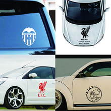 Classic Football Logo Car Sticker Car-styling Decal Glue for Decoration Funny Motorcycle Styling Vinyl