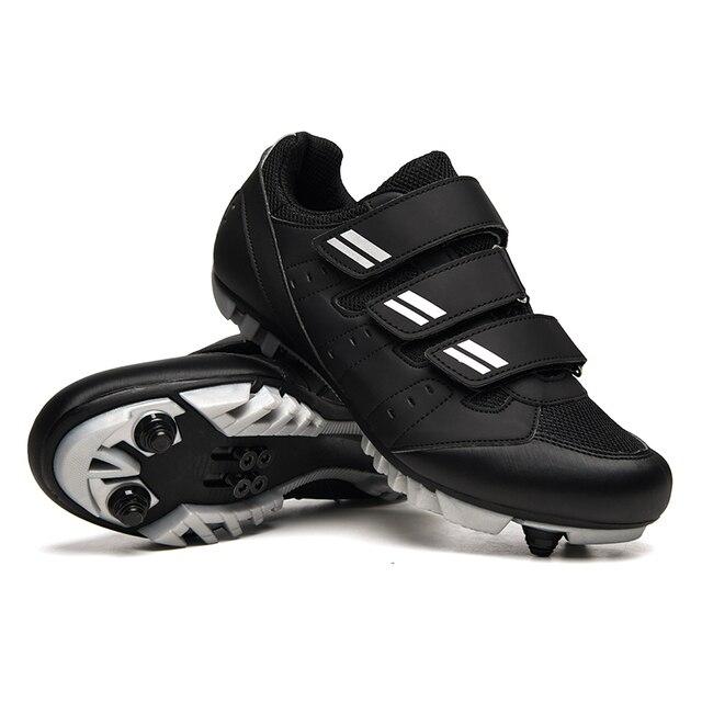 2020 novo tamanho grande mtb sapatos de ciclismo respirável ao ar livre estrada de corrida de bicicleta botas de tornozelo atlético auto-travamento tênis homem 2