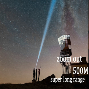 Image 5 - Powerful XHP90 XHP70.2  LED Flashlight long range Power Display Torch USB Zoomable 3 modes 26650 USB Rechargeable Large battery