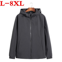 10XL 8XLbig size 9XL7XL New Jacket Men Fashion Casual Loose Mens Jacket Sportswear Bomber Jacket Mens jackets men and Coats