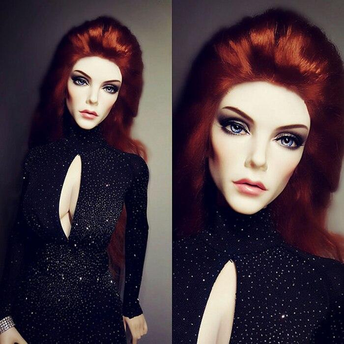 BJD 1/3 Puppe Rania Schöne Mode Frauen Puppe Mode Bjd Freies Augen