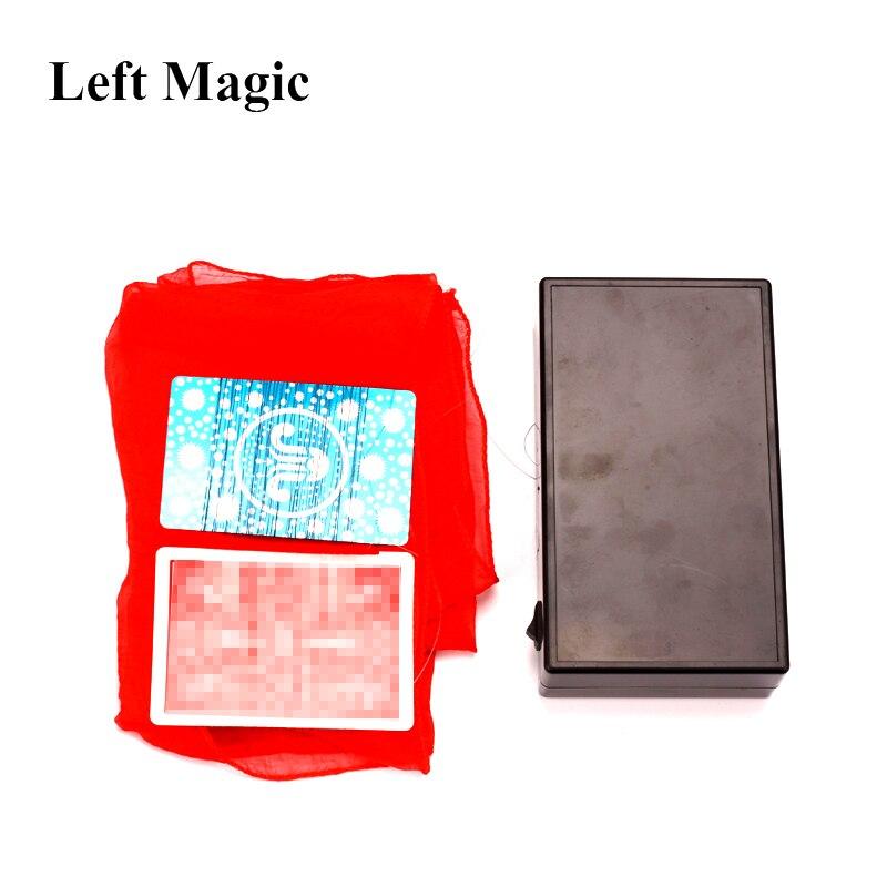 Magic Show Zaubertricks Zubehör Fliegen Seiden Tuch und Poker