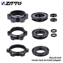 ZTTO Bicycle hub Center Lock to 6 Bolts Disc Brake Hub Spacer 15x100 to 15 x 110 Front Rear Washers 12x148mm Thru Axle