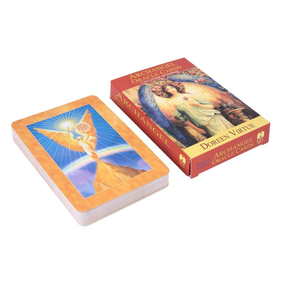 Magic Archangel Oracle Cards Earth Magic:read Fate Tarot Card Game For Personal Use Board Game A 45-card Deck