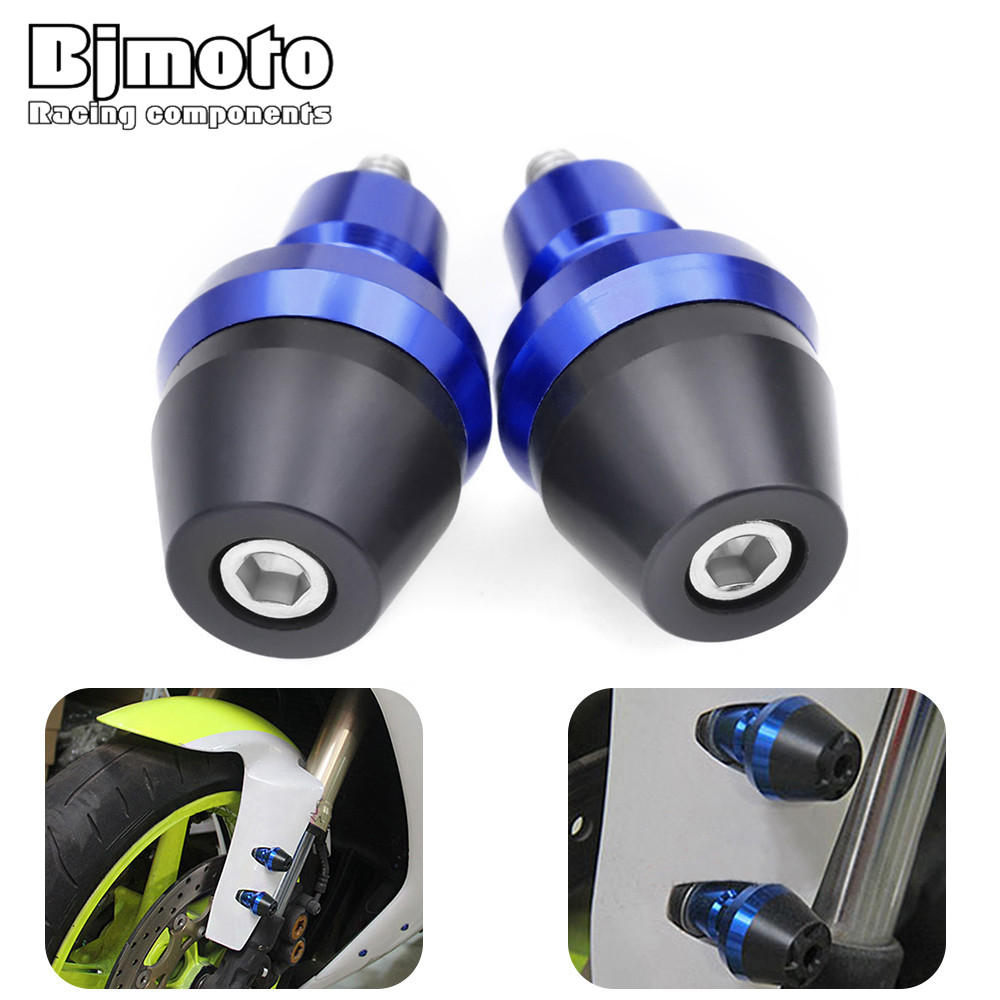 Motorcycle 6mm Front Falling Protectors Frame Slider Screw Bolt Fork Caps protection Crash Pad Protect for BMW S1000RR R1200GS(China)
