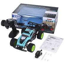 Green 2.4Ghz Wireless Remote Control High Speed Electric RC Racing Car Offroad Remote Control Car Truck 14+ Age(China)