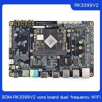 Friendly SOM-RK3399V2 core board  4GB memory 16GB flash memory HDMI IN dual MIPI dual frequency WiFi