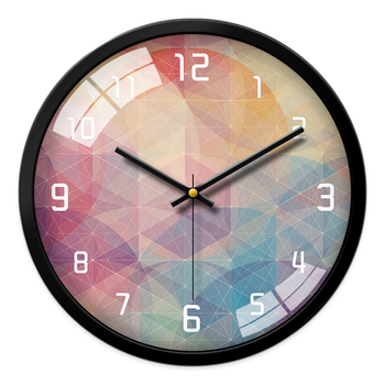 Bedroom Nordic Glass Wall Clock Large Modern Kitchen Wall Clocks Thick Watches For Kitchen Living Room Novelty Watch New II50WC