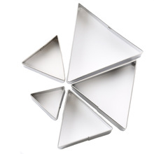 3/4/5/6/7cm Triangular Stainless Steel Clay Craft Cutting Mold DIY Polymorph Arcilla Polimerica Klei Polymer Tools
