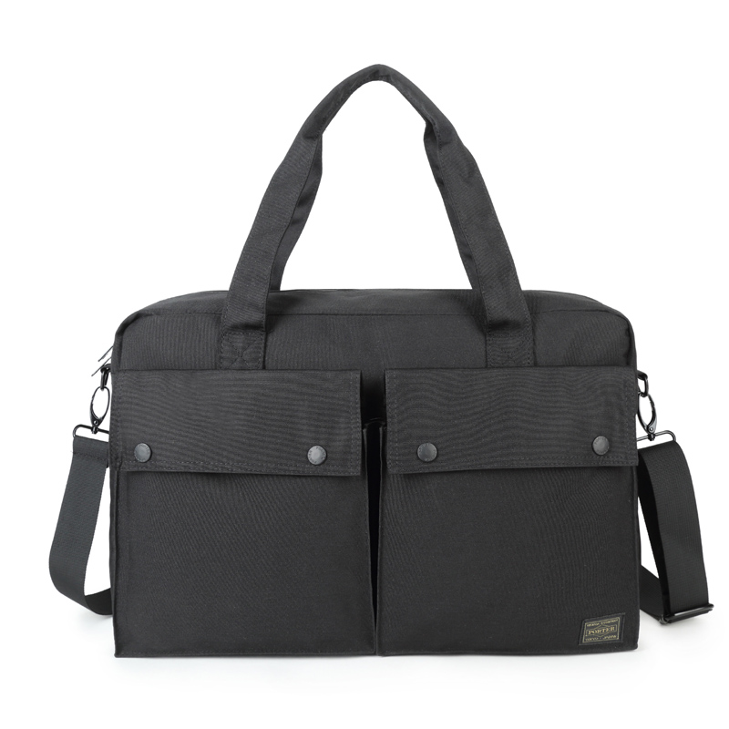 Head Porter Briefcases Men Women Casual Head Porter Briefcase Waterproof Large   Capacity Japan Bags 42/27.5/12CM