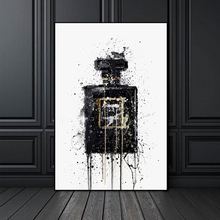 Canvas HD Prints Pictures  Perfume Bottle Modular Nordic Wall Art Paintings Home Decor Posters For Living Room Framework canvas hd prints pictures wall art 5 pieces one piece monkey d luffy paintings anime poster living room decor modular framework