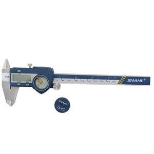 Image 5 - 沙河IP54 防水デジタルノギスmessschieber電子デジタルノギス 0 〜 150 ミリメートルpaquimetroデジタル