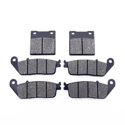1 Set Motorcycle Front and Rear Brake Pads Kit for Suzuki GSX 400 94-96 GSF650 GSF 650 Bandit 95-99 RF400 & RF 600 RF600 R 93-97