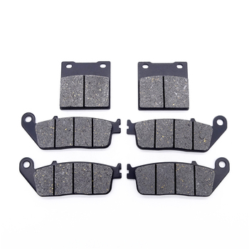 1 Set Motorcycle Front and Rear Brake Pads Kit for Suzuki GSX 400 94-96 GSF650 GSF 650 Bandit 95-99 RF400 & RF 600 RF600 R 93-97 image