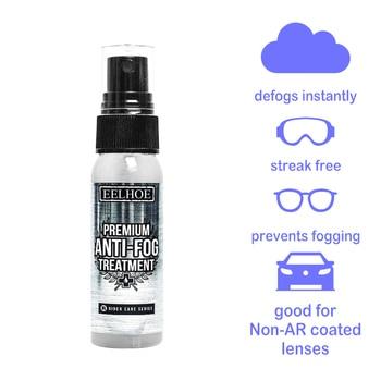 Anti-Fog Spray Eyeglass Lens Cleaner Car Windscreen Goggles Long Lasting Defogger Anti Fog Spray Weather Protection 32 ml 2