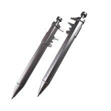 50 Pcs Vernier caliper ballpoint pen Multifunction 0.5mm Gel Ink Pen Vernier Caliper Roller Ball Pen Stationery Ball-Point