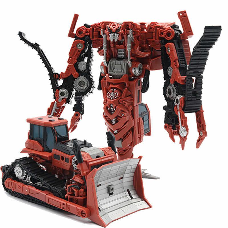 Bmb aoyi ss38 새로운 멋진 18cm 변환 영화 완구 ko 로봇 자동차 애니메이션 모델 액션 피규어 키즈 보이 완구 선물 H6001-4B