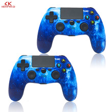 K ISHAKO for PS4 Controller Wireless Gamepad For Playstation Dualshock 4 Joystick Bluetooth Gamepads PS4/PS4 Pro Silm PS3 PC