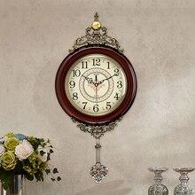 Large Art Metal Creative Glass Wall Clock Modern Design Home Decor Silent Vintage Nordic Klok Clocks London WBY044