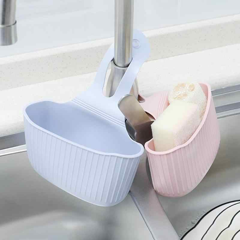 מטבח כיור ספוג מחזיק PVC סבון תליית מייבש יניקה כוס ברז קיר ניקוז סל בית אמבטיה סחורות מדף