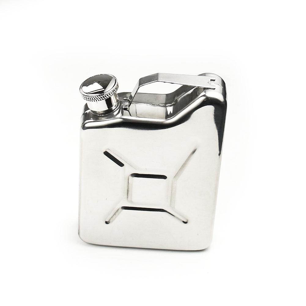 5oz Portable Stainless Steel Hip Flask Flagon Whiskey Liquor Alcohol Wine Pot Oil Barrel Personalized Travel Drinkware Men Gift