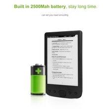 BK 6025 6 inç 8G e kitap okuyucu e mürekkep 800x600 çözünürlüklü e kitap okuyucu bellek EBook
