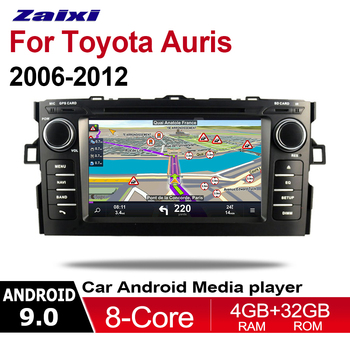ZaiXi 2 Din Car Multimedia Player Android 9 Auto Radio For Toyota Auris 2006~2012 DVD GPS 8 Cores 4GB+32GB Bluetooth WiFi