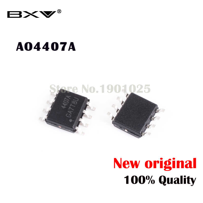 10 stücke AO4407A 4407A MOSFET SOP-8 neue original