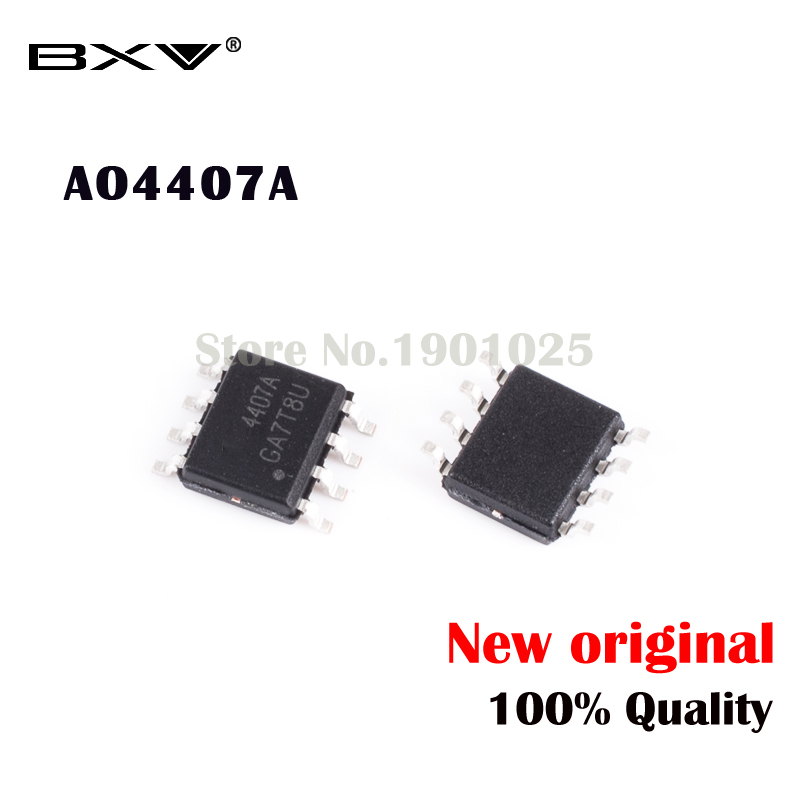 10pcs AO4407A  4407A   MOSFET SOP-8 New Original