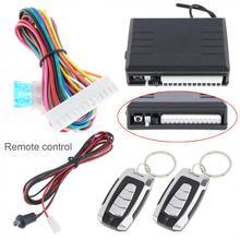 все цены на Universal 12V Car Alarm Systems Auto Remote Central Kit Door Lock Vehicle Keyless Entry System Central Locking Remote Control онлайн