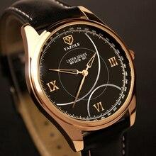 Top Luxury Brand YAZOLE Men Watch Simple Stylish Rose Gold Mens Watches Quartz Wristwatch Man Minimalist erkek kol saati reloj