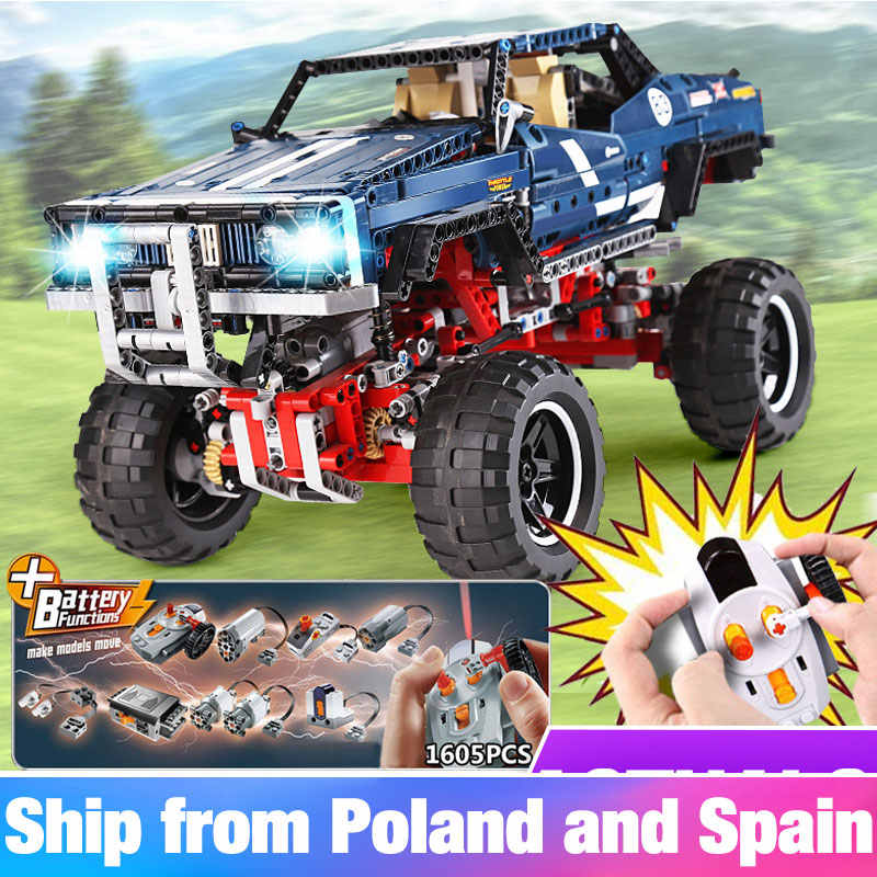 20011 Technic series Compatible 41999 classic limited edition of off-road vehicles car Building blocks kid Toys compatible lego
