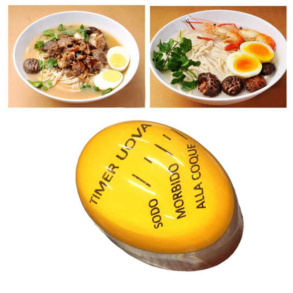 Portable Size Home Kitchen Egg Timer Useful Color Changing Boiled Eggs Cooking Helper Kitchen Eggs Cooking Supplies