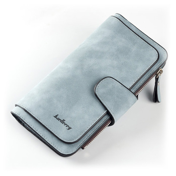 Women Wallets Name Engrave Fashion Long Leather Top Quality Card Holder Classic Female Purse  Zipper  Wallet For Women 7