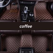 цена на HLFNTF Custom car floor mats For nissan all model qashqai juke qashqai almera Patrol GT-R X-Trail Cefiro fuga QUEST car accessor
